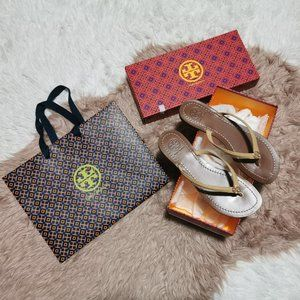 Tory Burch Sandals Size 6.5 New In Box
